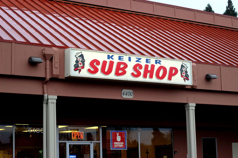 Keizer Sub Shop Storefront